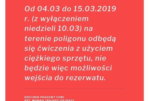 W każdą niedzielę można wejść do Śnieżycowego Jar w marcu 2019